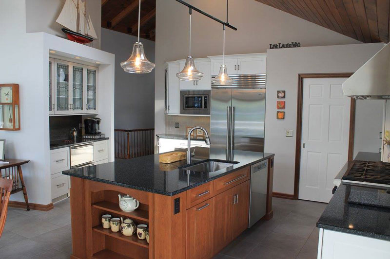 view of full kitchen