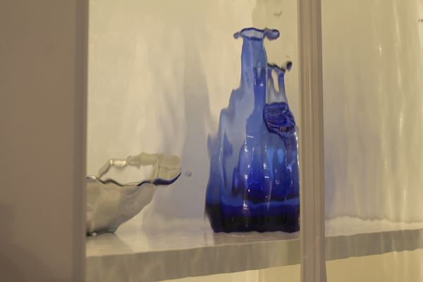 glass in display case